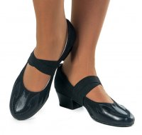 Туфли женские комбинированные