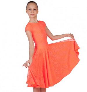 Платье рейтинговое двойное, короткий рукав