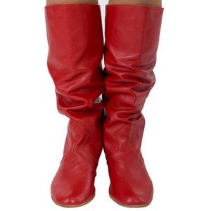 Сапоги женские народные, каблук 4 см