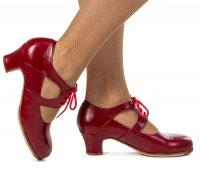 Туфли - Фламенко комбинированные женские