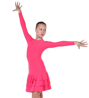Платье рейтинговое, 3-х ярусная юбка